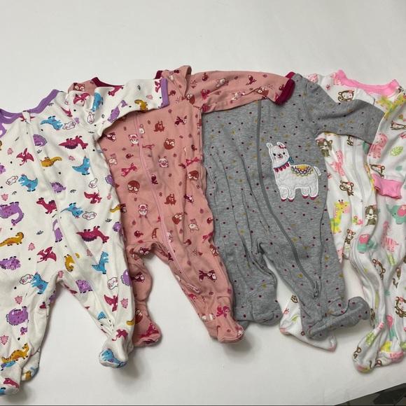 Pajamas set of 4 0-3 months